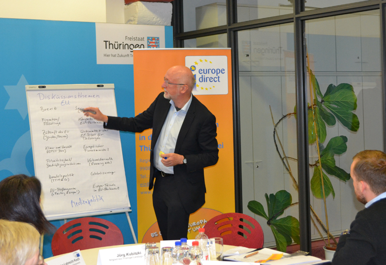 Medienworkshop des Europaparlemts in Erfurt